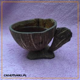 kubek - kokosowy zestaw naczyń