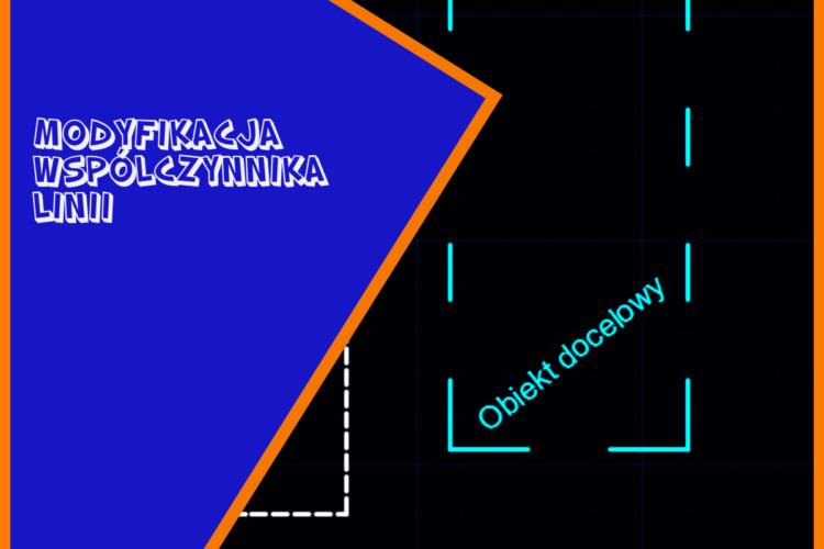 Współczynnik skali linii czyli regulowanie gęstości linii kreskowanej, kropkowanej na rysunku dokumentacji technicznej.