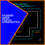 Połączenie kopiowania, powiększania, zaokrąglania i fazowania w jednym czyli polecenie odsuń funkcja offsetgaptype