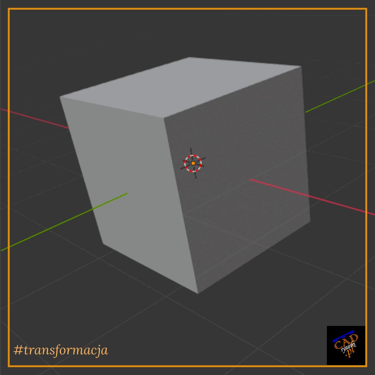 Metoda przesuwania obiektów geometrycznych z użyciem klawisza SHIFT oraz CTRL