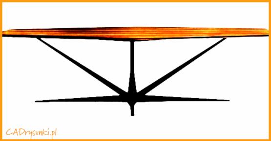 Stół do salonu w którym można dobrać dowolny kolor blatu lub łączyć kolory.