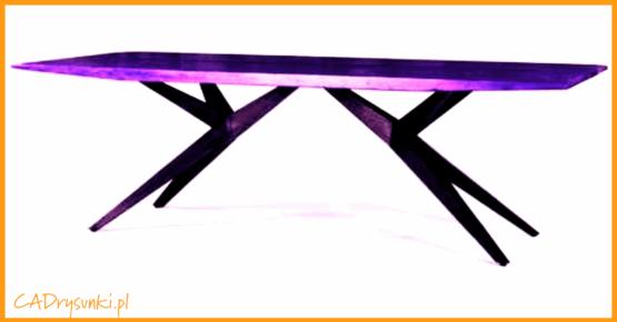 Kolorowe biurko młodzieżowe z blatem w jednym lub kilku kolorach.