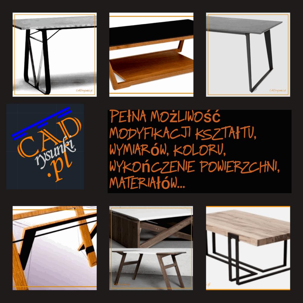Producent stołów, biurek w stylu loft industrial