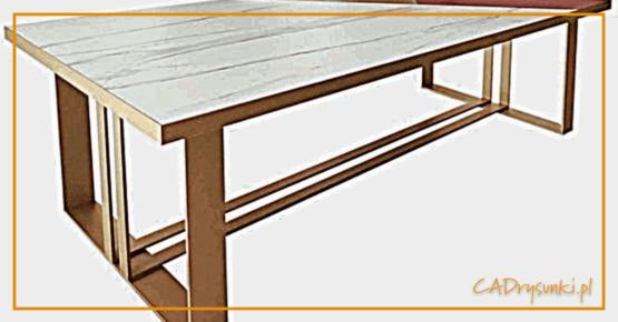 Biurka w stylu loft czyli metalowe nogi i blat z drewna